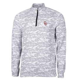 Cutter & Buck Mens' Cutter & Buck Traverse Camo Half Zip