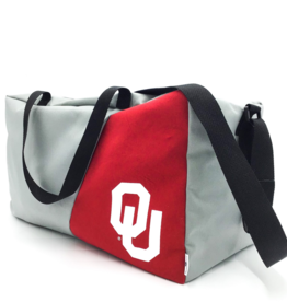 Reborn Reborn OU Recycled Clothing Square Duffel Bag