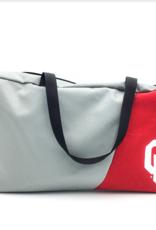 Reborn Reborn OU Recycled Clothing Square Duffel Bag