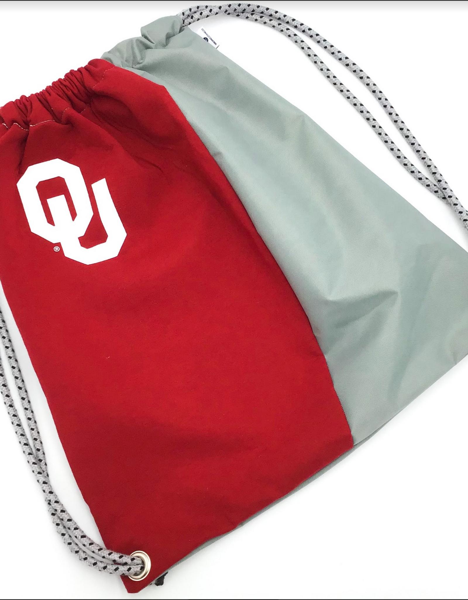 Reborn Reborn OU Recycled Clothing Cinch Bag