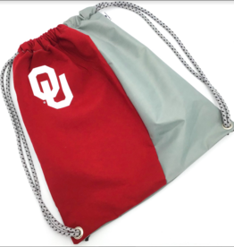 Reborn Reborn OU Recycled Clothing Cinch Bag