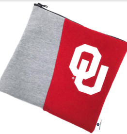 Reborn Reborn OU Recycled Clothing  Zippered Pouch
