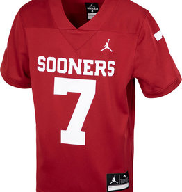 Jordan Youth Jordan Brand #7 Sooners Football Jersey