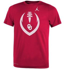 Jordan Jordan Youth Legend OU Football Icon Tee