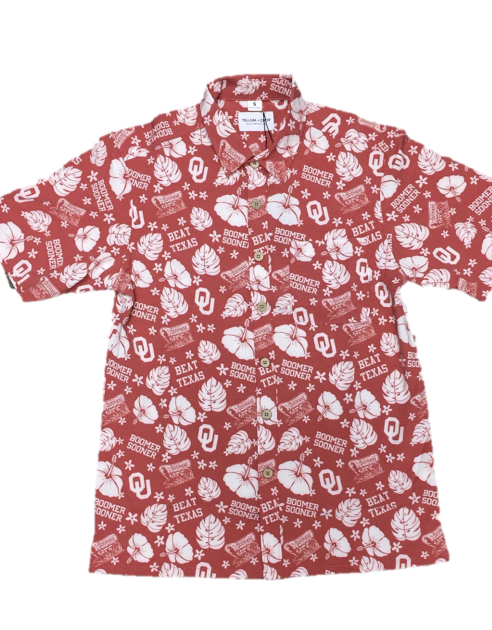 Tellum + Chop Beat Texas Hawaiian Shirt