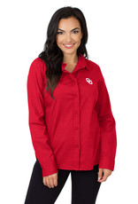 UGApparel Women's Crimson OU Oxford Shirt