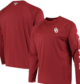 Columbia Columbia Men's OU Terminal Tackle Long-sleeve Tee
