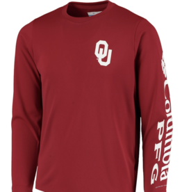 Columbia Columbia Youth OU Terminal Tackle Long-sleeve Tee