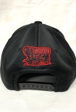 Top of the World Youth Prog OU Sooners Black Flat Bill Hat
