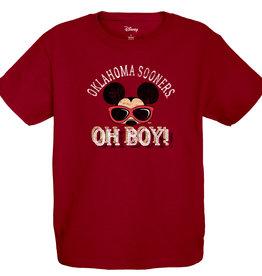 "Blue 84 Youth Oklahoma Mickey Mouse ""OH Boy!"" Tee"