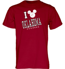 Blue 84 Men's Blue 84 OU Disney Fondness Mickey SS Tee
