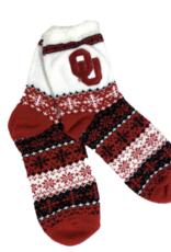 ZooZatz Women's OU Holiday Socks