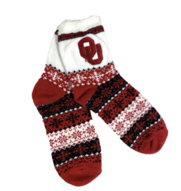 ZooZatz Women's OU Holiday Socks