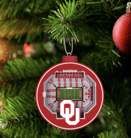 You The Fan Oklahoma Sooners 3D Stadium Ornament