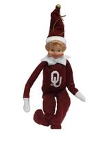 """Santa's Workshop OU 12"""" Elf Ornament"""