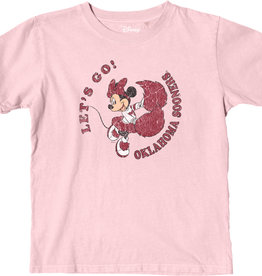 Blue 84 Youth Oklahoma Disney Let's Go Minnie Pink Tee