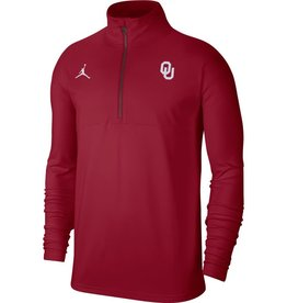 Jordan Men's Jordan OU Coach Half-zip Top