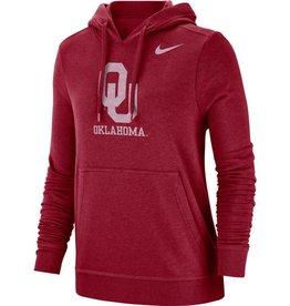 Nike Women's Nike OU Club Pullover Hoodie