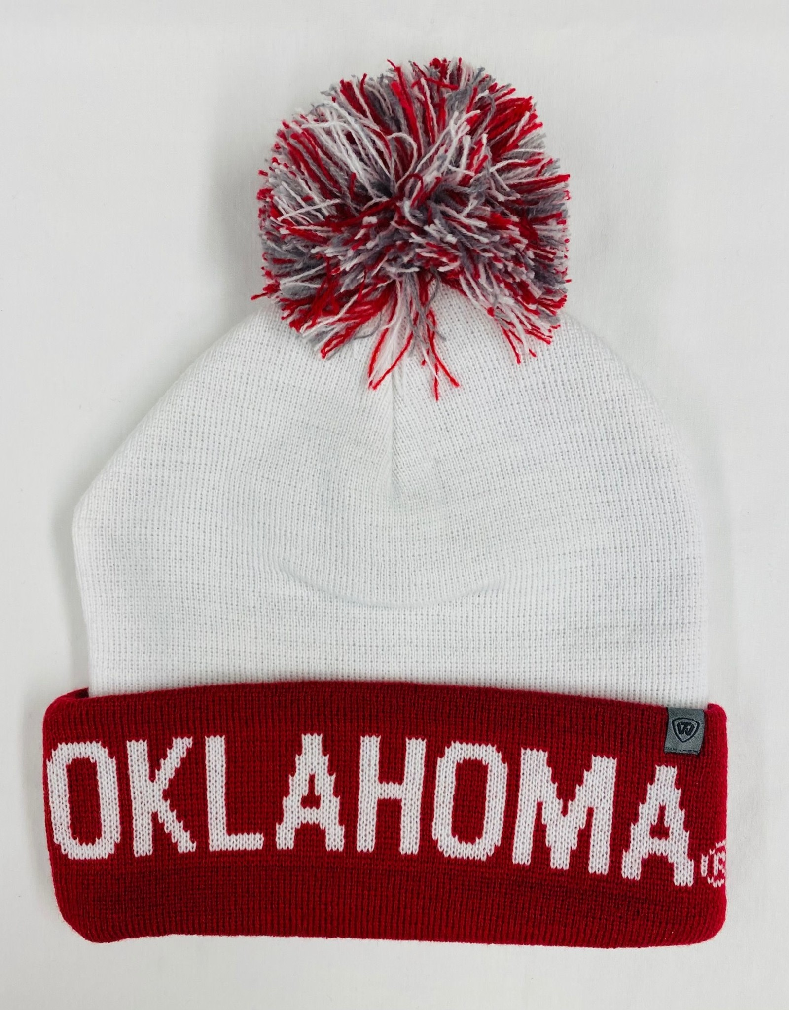 Top of the World TOW Void Oklahoma Two-Tone Cuffed Knit Cap