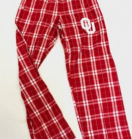 Boxercraft Flannel Plaid OU Lounge Pant