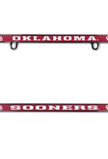 WinCraft Oklahoma Sooners Thin Rim Metal License Plate Frame