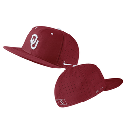 Nike Nike Oklahoma AeroBill On Field Baseball Hat