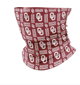 TOW TOW OU Boomer Sooner Neck Gaiter