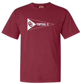 Comfort Colors Comfort Colors OU Virtual U Short Sleeve Tee