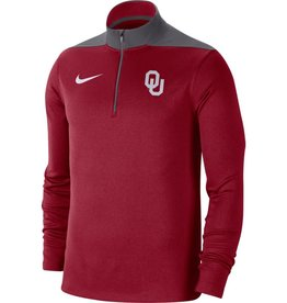 Nike Men's Nike OU Fan Fave Dri-Fit 1/4 Zip Top