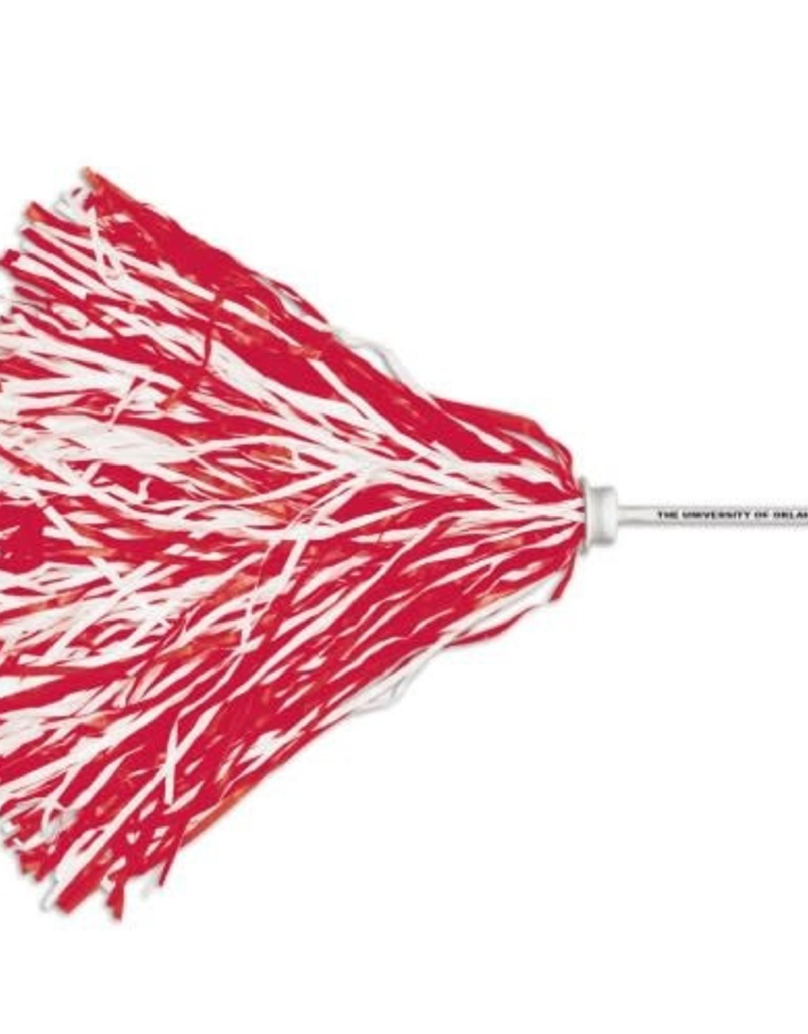 "WinCraft Stick Crimson & White Rooter Pom (6"")"