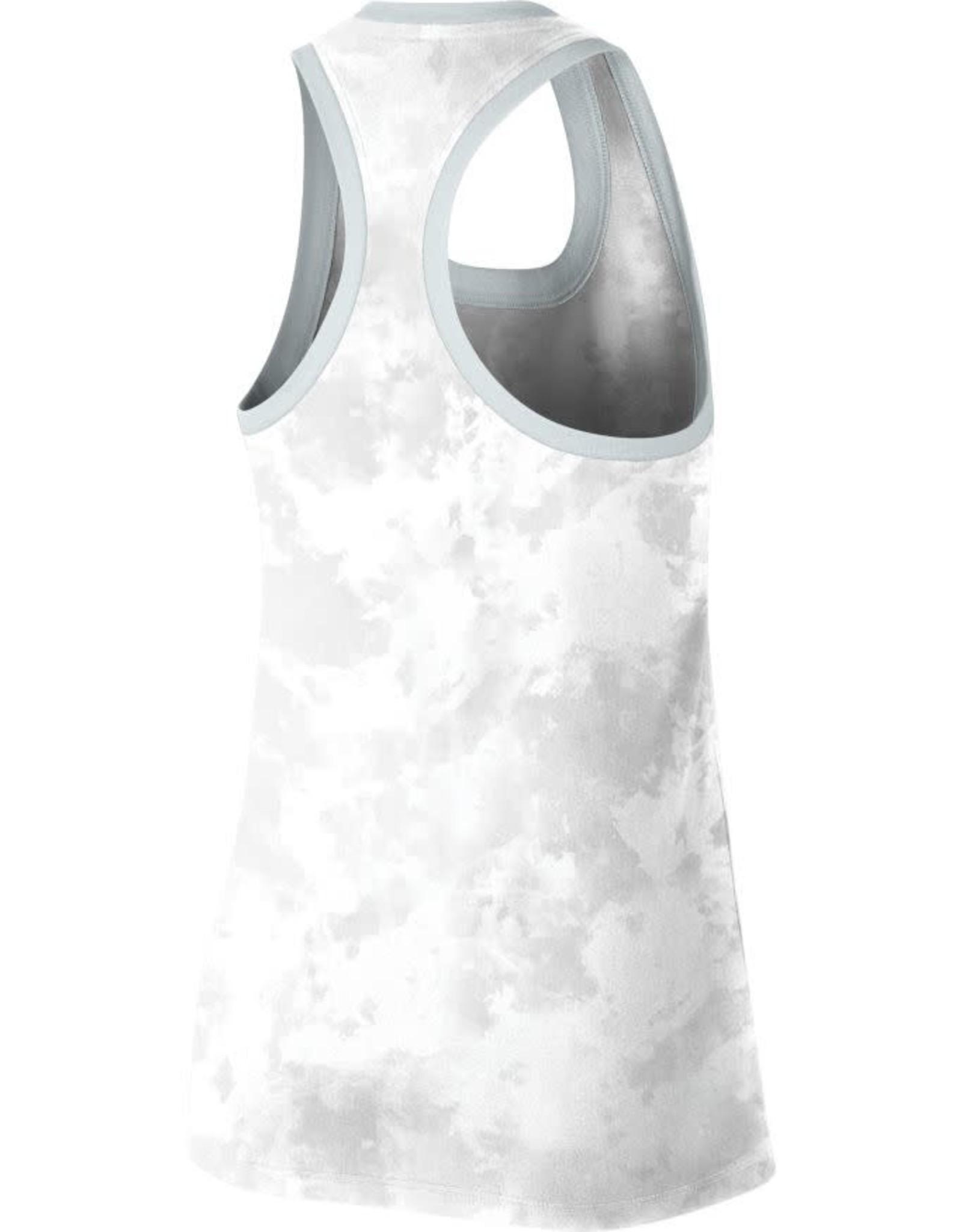 Nike Women's Nike OU White Marble Racerback AOP Tank
