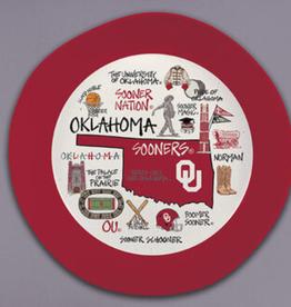 "Magnolia Lane Magnolia Lane 13.5"" Oklahoma Themed Melamine Bowl"