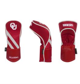 Team Effort Crimson OU Hybrid Headcover