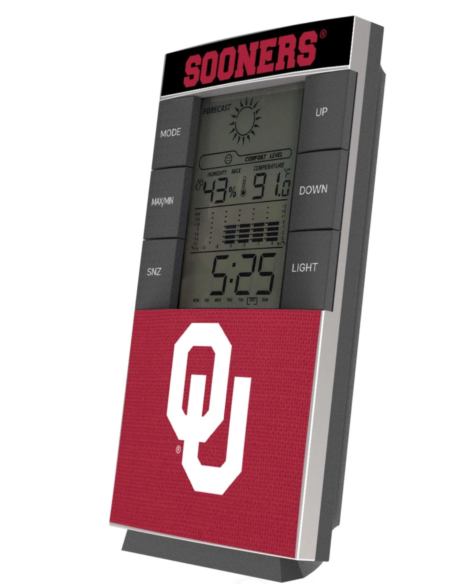 Keyscaper Keyscaper Desk Clock/Weather Station
