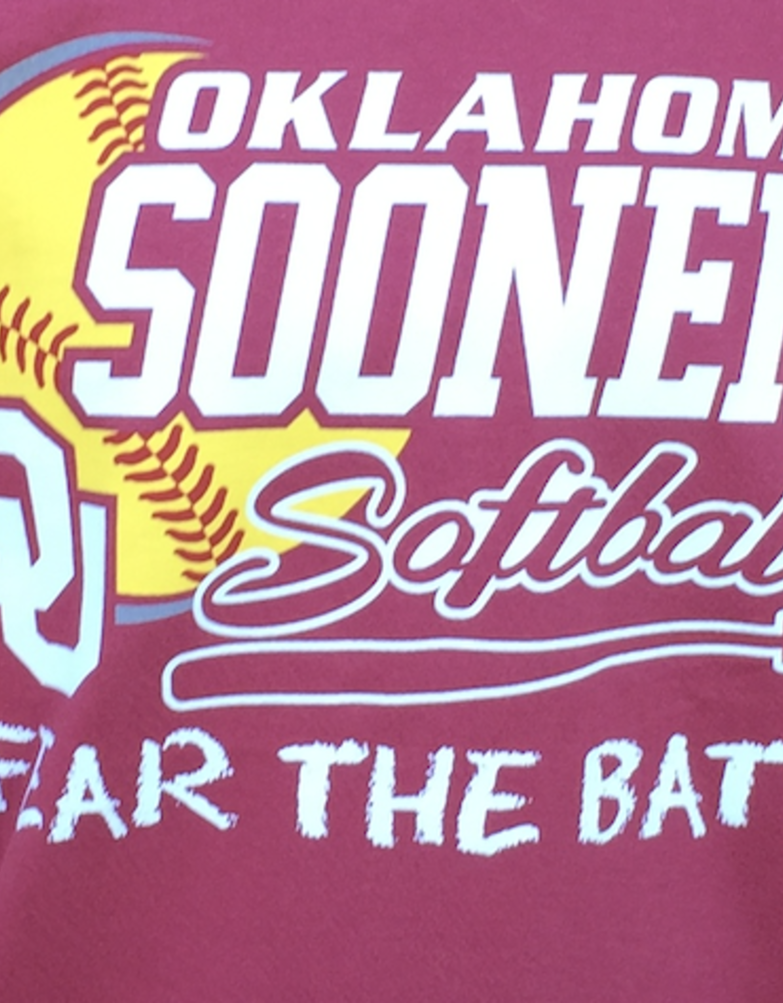 "Comfort Colors Comfort Colors ""Fear the Bats!"" OU Softball Tee"