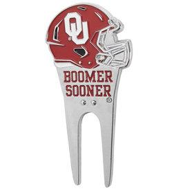 Siskiyou Oklahoma Sooners Helmet Divot Tool