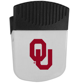 Siskiyou Oklahoma Sooners Chip Clip Magnet With Bottle Opener