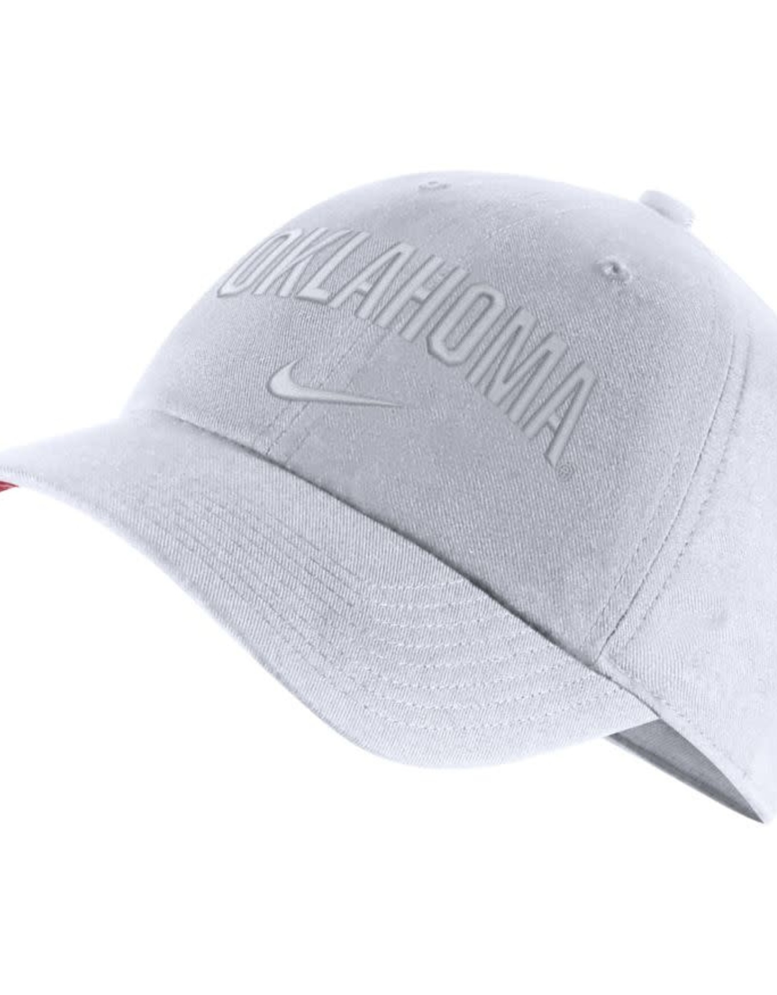 Nike Nike H86 Arch Oklahoma Adjustable Cap Tonal White