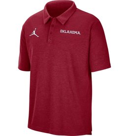 Jordan Men's Jordan 2021 Crimson Oklahoma Team Polo