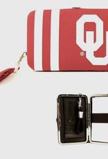 Little Earth Products OU Hard Case Wristlet ID Wallet