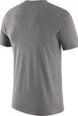 "Nike Men's Nike Gray SS Tri-Blend ""O"" Old School OU Tee"