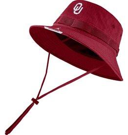 Jordan Men's Jordan 2021 Crimson OU Dri-Fit Sideline Bucket Hat
