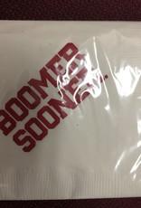 "Sassy Cups Boomer Sooner Paper Napkins 20ct (5""x5"" folded)"