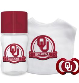 Baby Fanatic Oklahoma 3-Piece Baby Gift Set