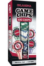 Masterpieces Oklahoma 100 Piece Poker Chips