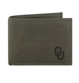 Zep-Pro Zep-Pro OU Gray Leather Passcase Wallet