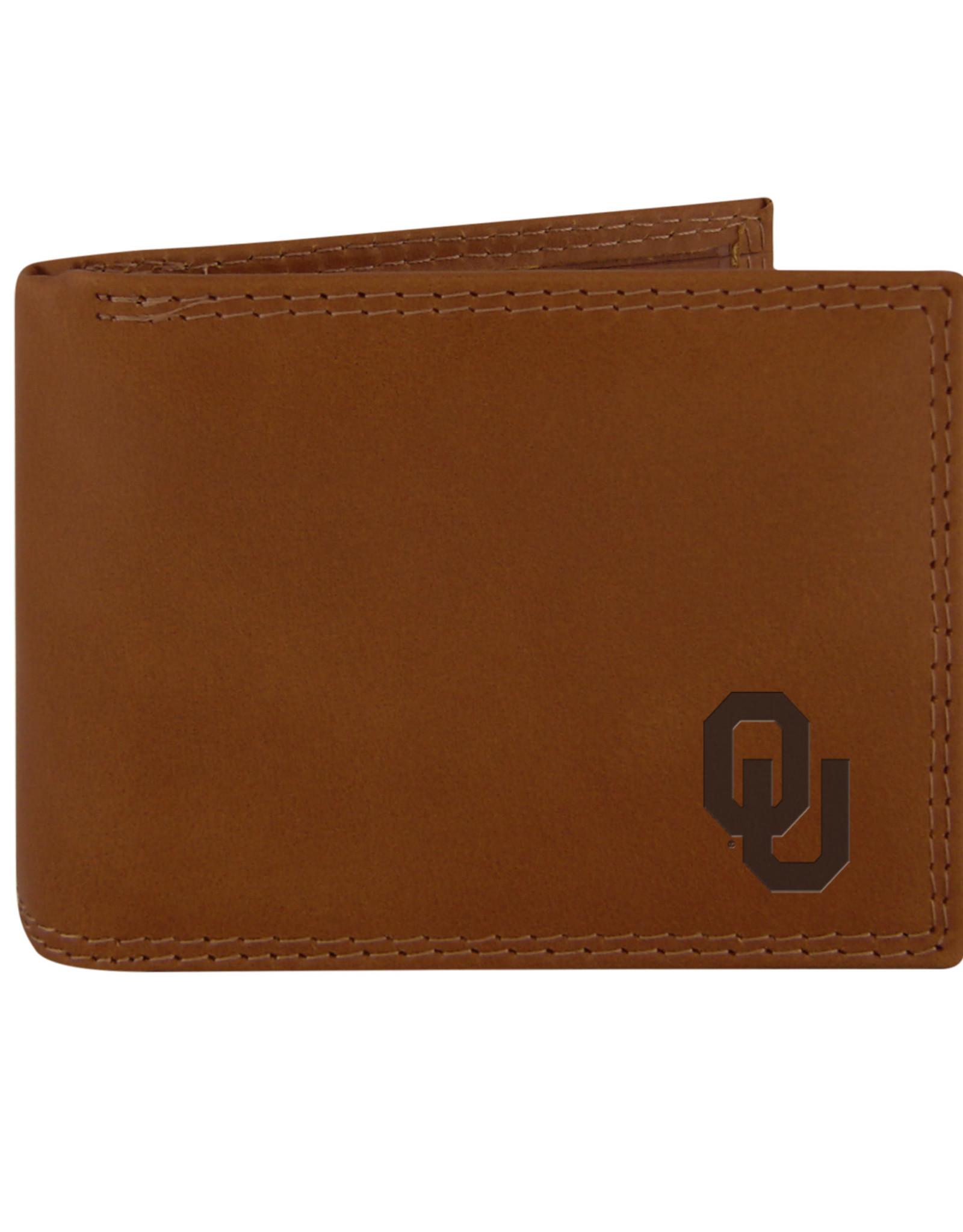 Zep-Pro Zep-Pro Tan Bi-Fold Wallet Embossed OU