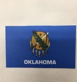 Blue 84 Blue 84 Oklahoma Flag Sticker