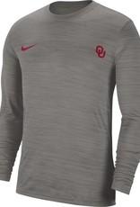 Nike Men's Nike OU Velocity Legend LS Tee