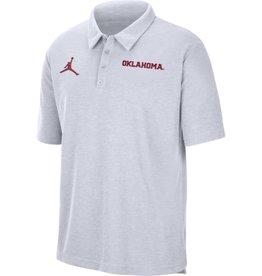 Jordan Men's Jordan 2021 White Oklahoma Team Polo